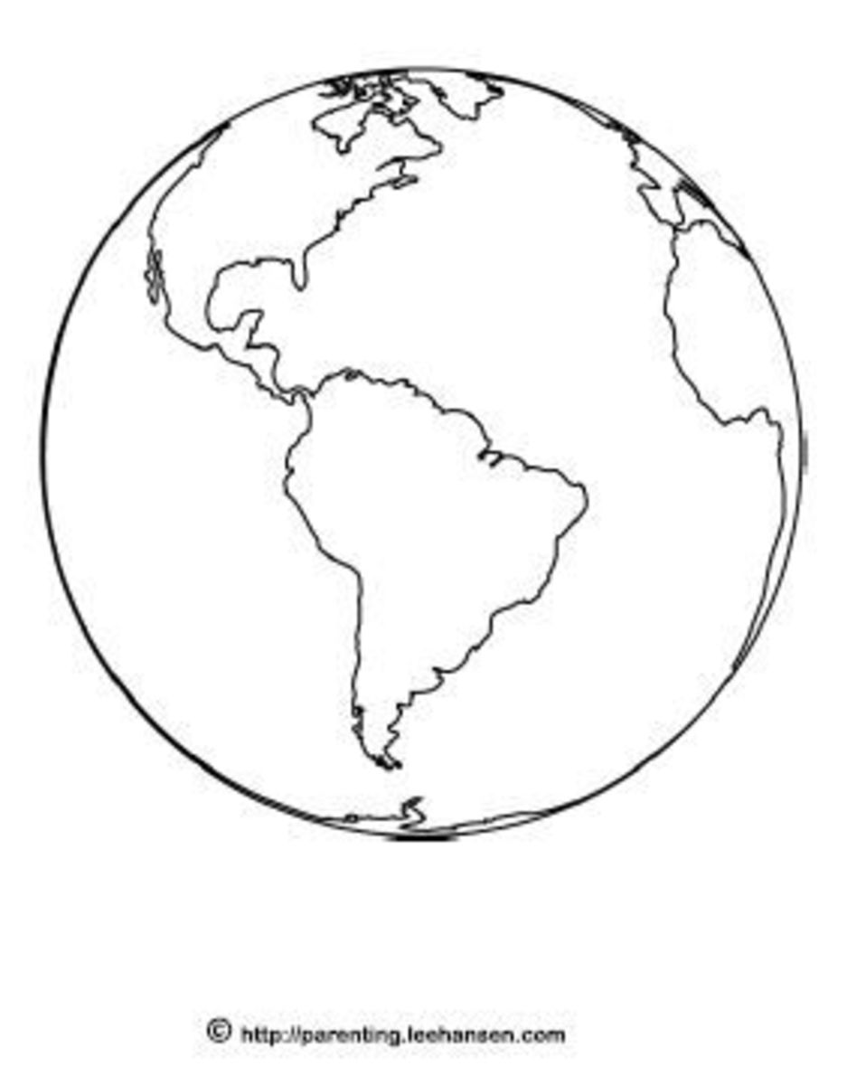 Earth Day Coloring Activities