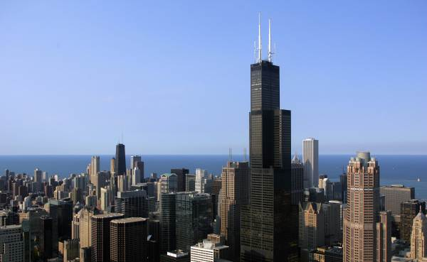 Willis Tower Sold Chicago Tallest Building Breaks Record With 1.5b Agreement