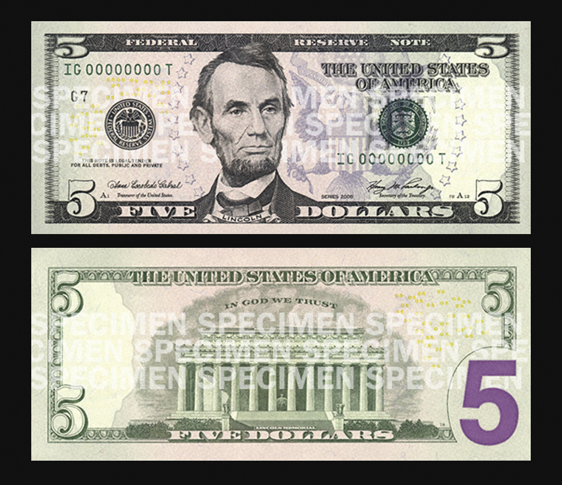 New 5 Bill To Feature Martin Luther King Eleanor