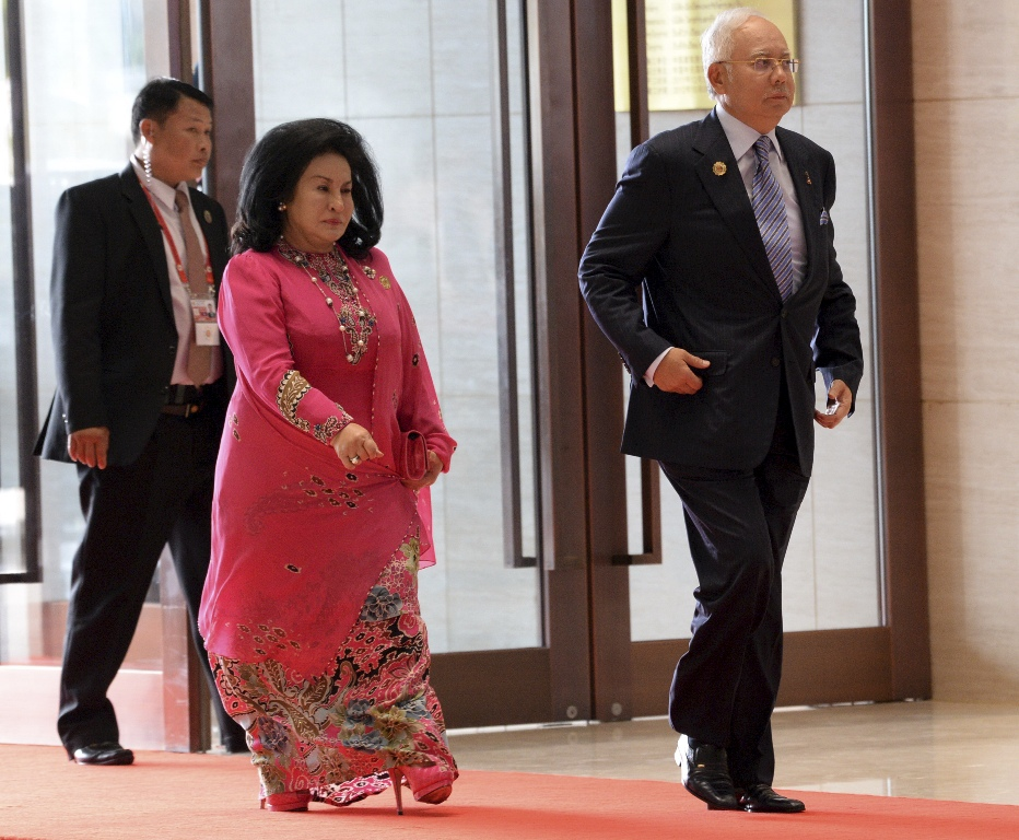 Image result for Najib and Big Momma in China