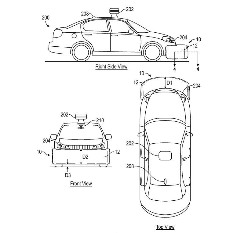 Google's Driverless Car Could Feature Air Bags On The