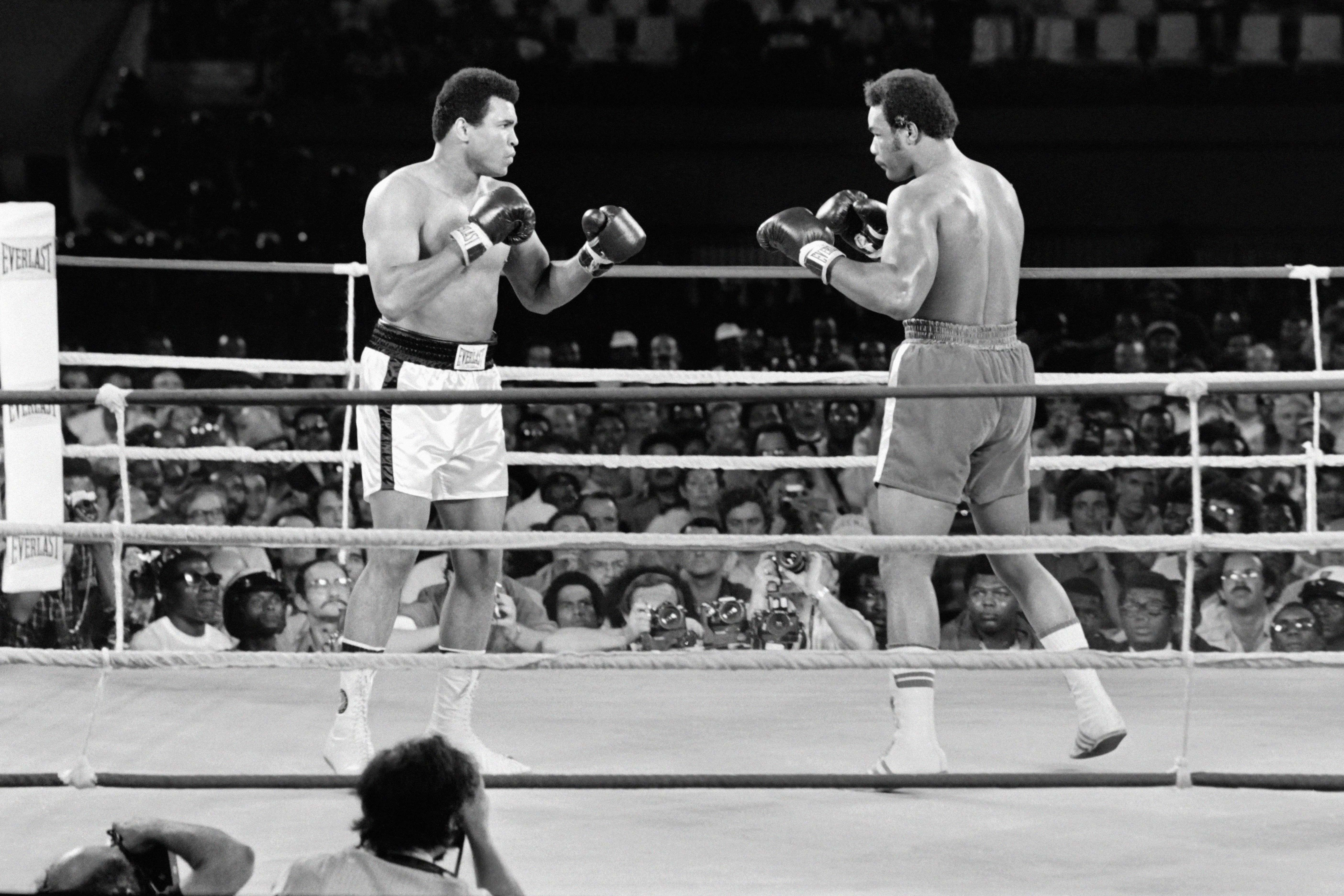 muhammad ali and george foreman are two of the five best heavyweights