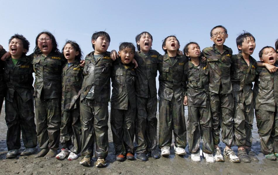 military camp for kids