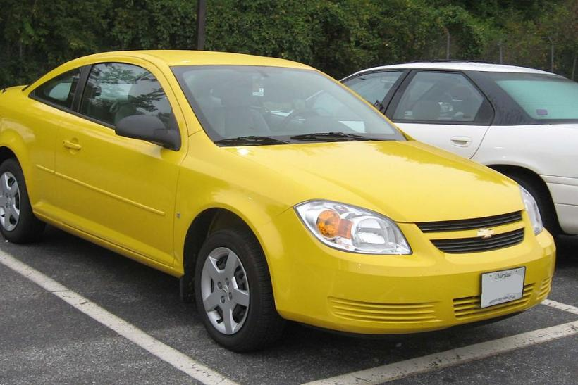 Ignition Switch Debacle Is Quickly Dropping Chevrolet Cobalt Saturn