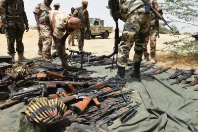 Image result for Nigerian Army weapons, ammunition
