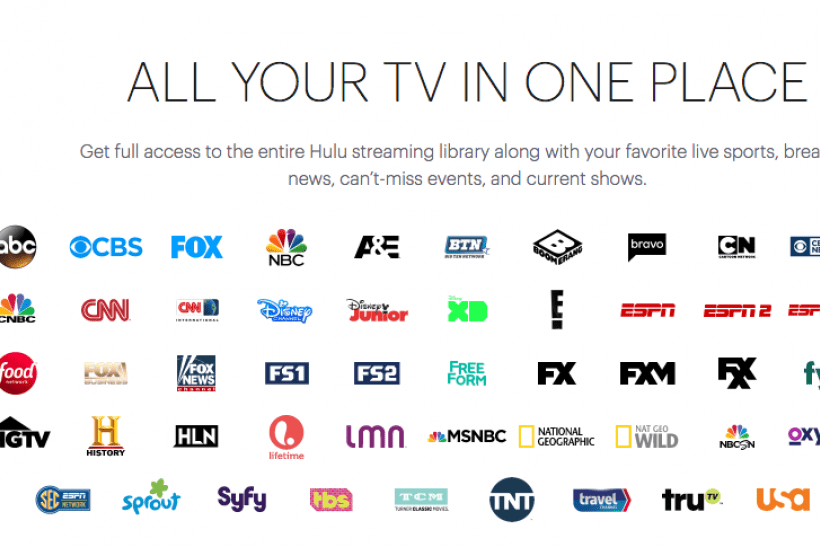 Hulu Launches Live TV Streaming Channel List Includes