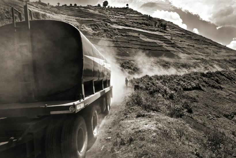 An Oil Truck Heading Through Rwanda Bound for Uganda, 2011