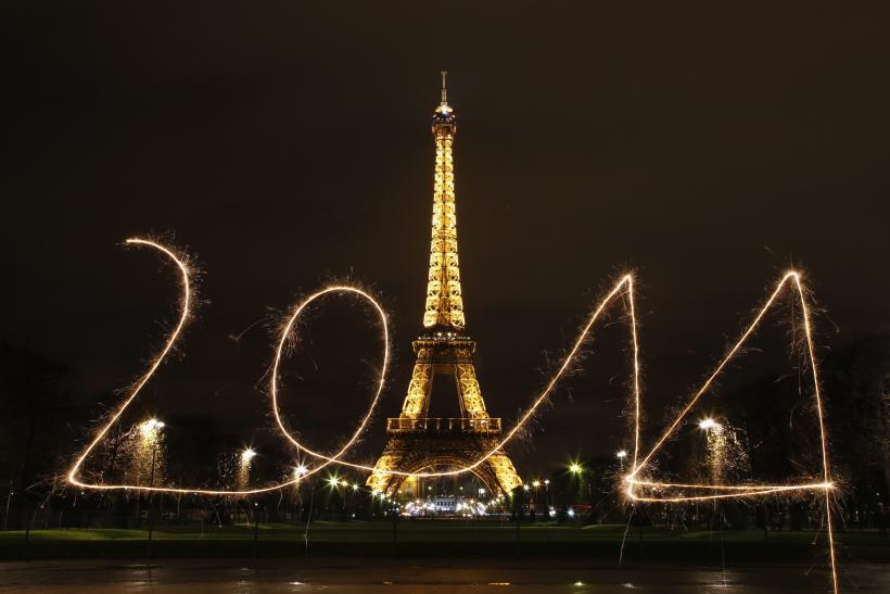 New Year's Paris
