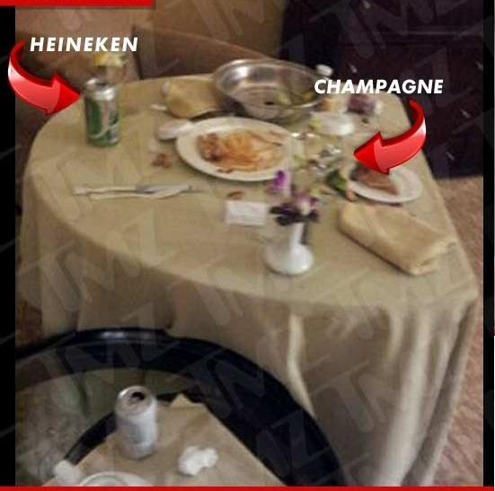 Whitney Houston Dead Bathtub Alcohol and Final Meal