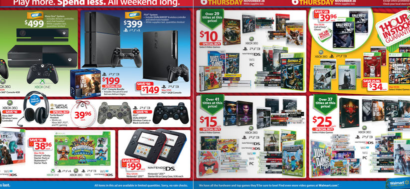 Black Friday Video Game Deals The Best Picks From Walmart