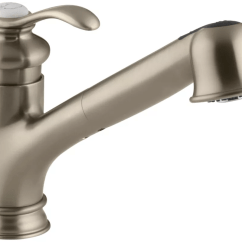 Kohler Kitchen Faucets Rug Under Table K 12177 Bv Brushed Bronze Fairfax Pull Out