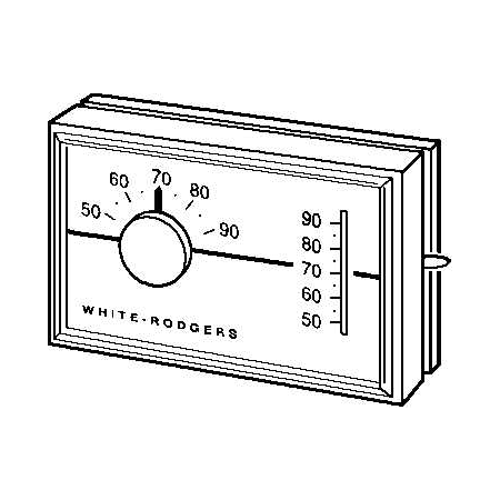 White-Rodgers 1F30-910 na Horizontal Mechanical Heat Only
