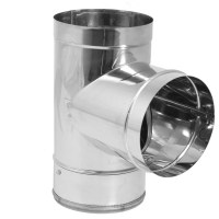 """DuraVent 6DBK-TSS Stainless Steel 6"""" Inner Diameter ..."""