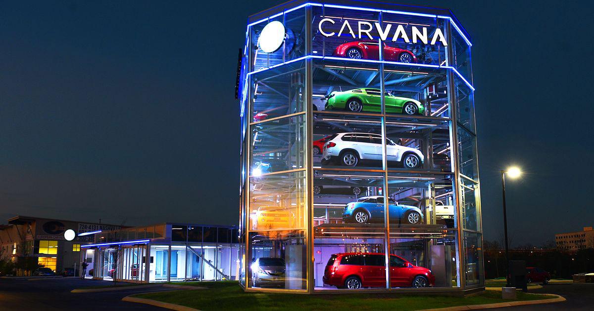 Carvana Has A Car Vending Machine Insidehook