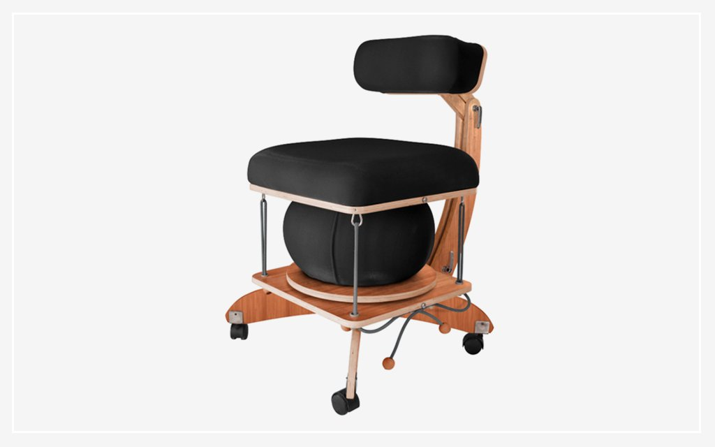 ergonomic chair exercise ball glider covers canada sprang is balance and in one insidehook this office asks how far are you willing to go for a healthy spine