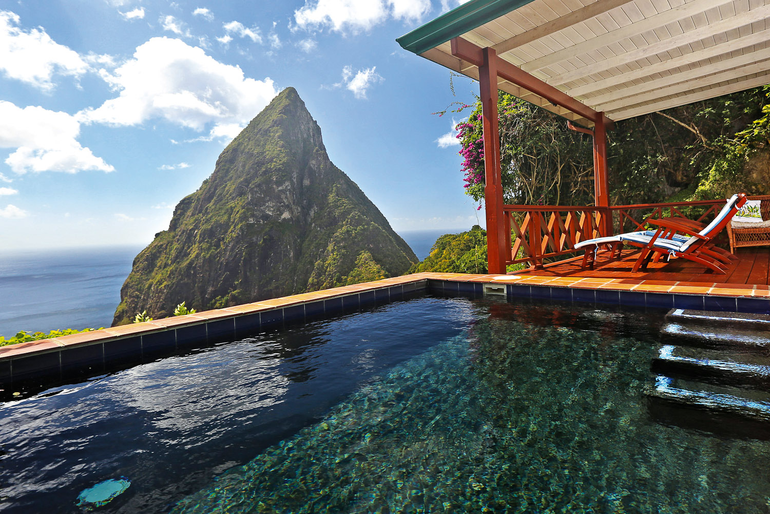 saint lucia and luxury