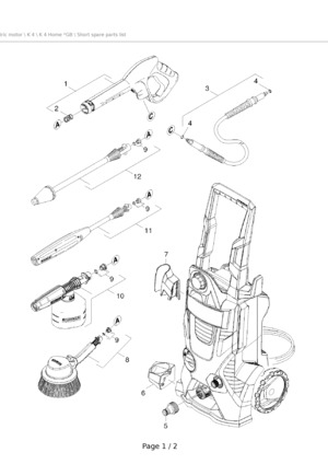 Wiring Diagram Karcher Pressure Washer Karcher Pressure