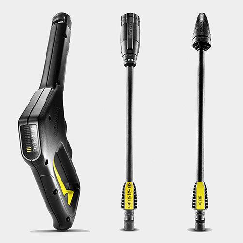 K 3 Full Control: Full Control Power Gun y lanzas pulverizadoras