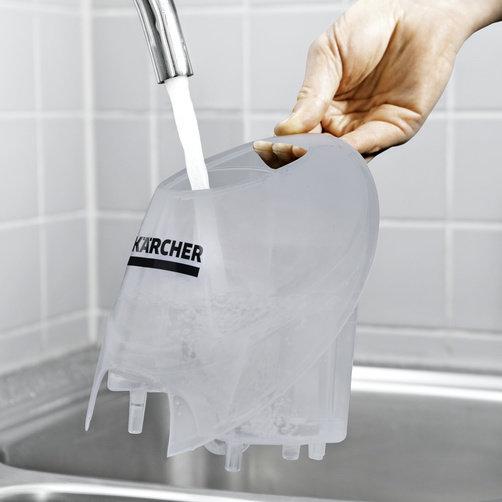 SC 4 EasyFix + set de paños desechables: Depósito de agua desmontable y rellenable de forma permanente