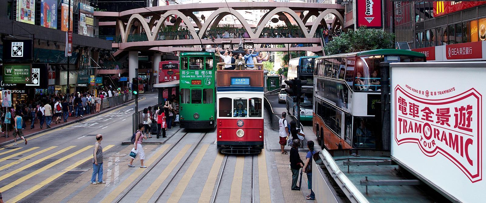 【香港叮叮車懷舊之旅】香港電車全景遊套票 - KKday