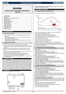 xr01-02cx 1. conteúdo 5. degelo (somente xr02cx)