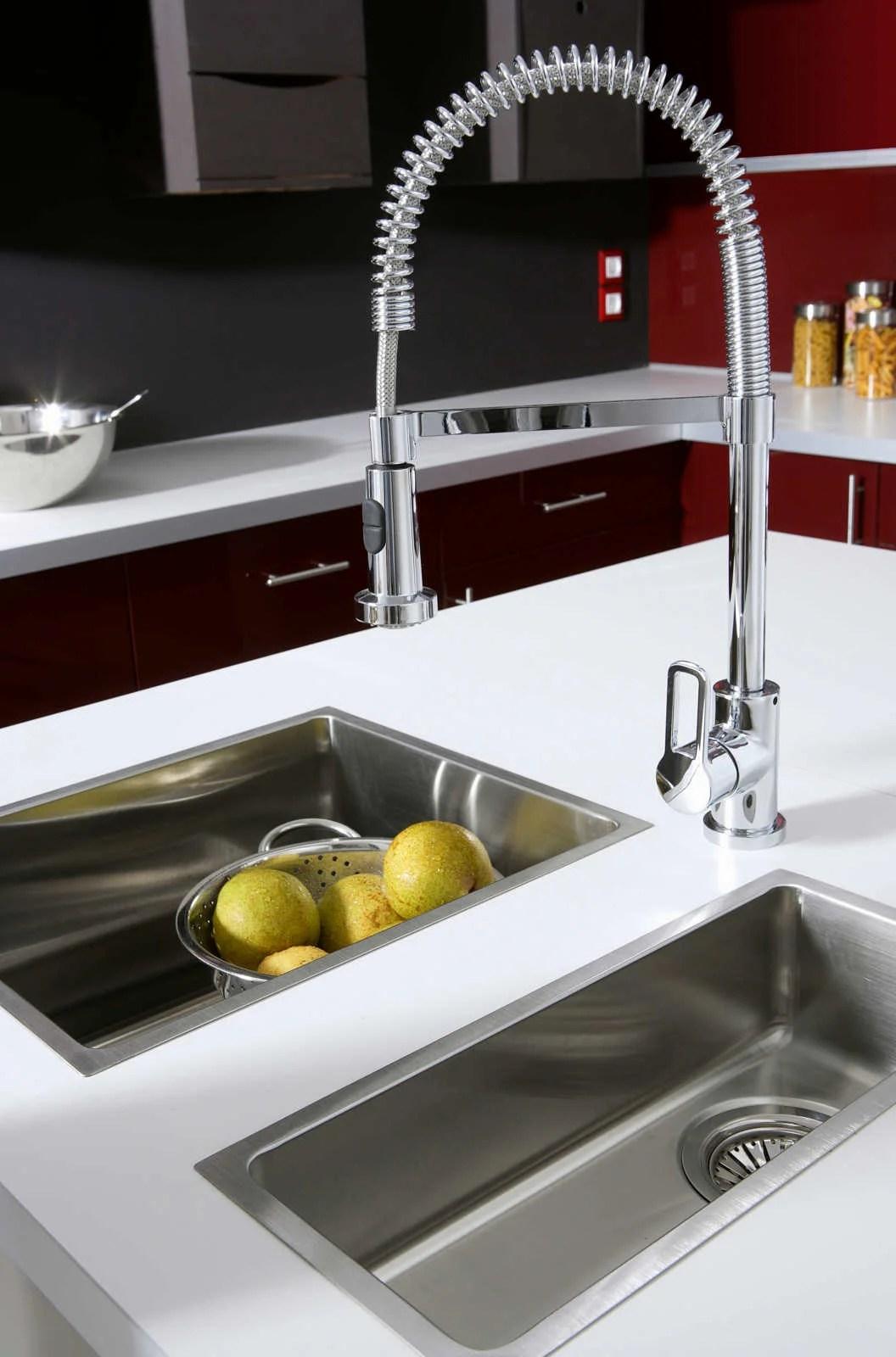 robinet cuisine moderne