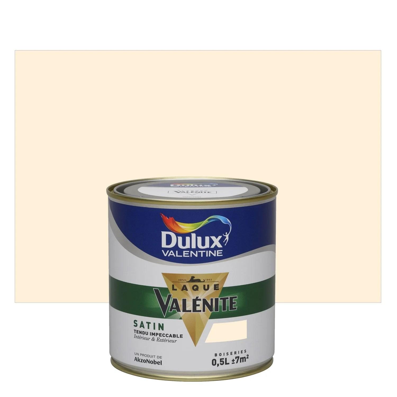 Peinture Blanc Cassé Satin Dulux Valentine Valénite 5 L