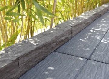 Bordure Jardin Bois Haute | Construire Facilement Une Bordure De ...