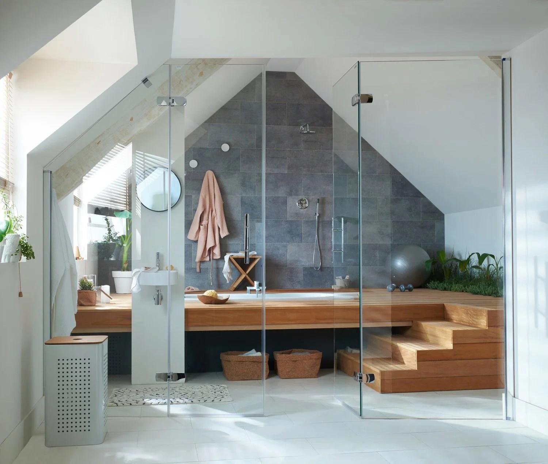 Salles De Bains Modernes Styles Et Tendances Leroy Merlin