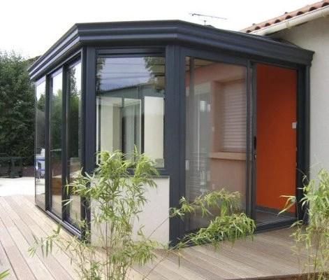 Veranda Avec Muret En Pierre - Décoration de maison idées de design ...