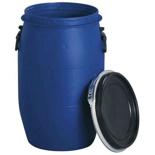 Ft de macration arien GARANTIA cylindrique bleu  60 l  Leroy Merlin