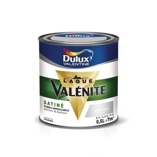 Peinture Blanc DULUX VALENTINE Valnite 05 L Leroy Merlin