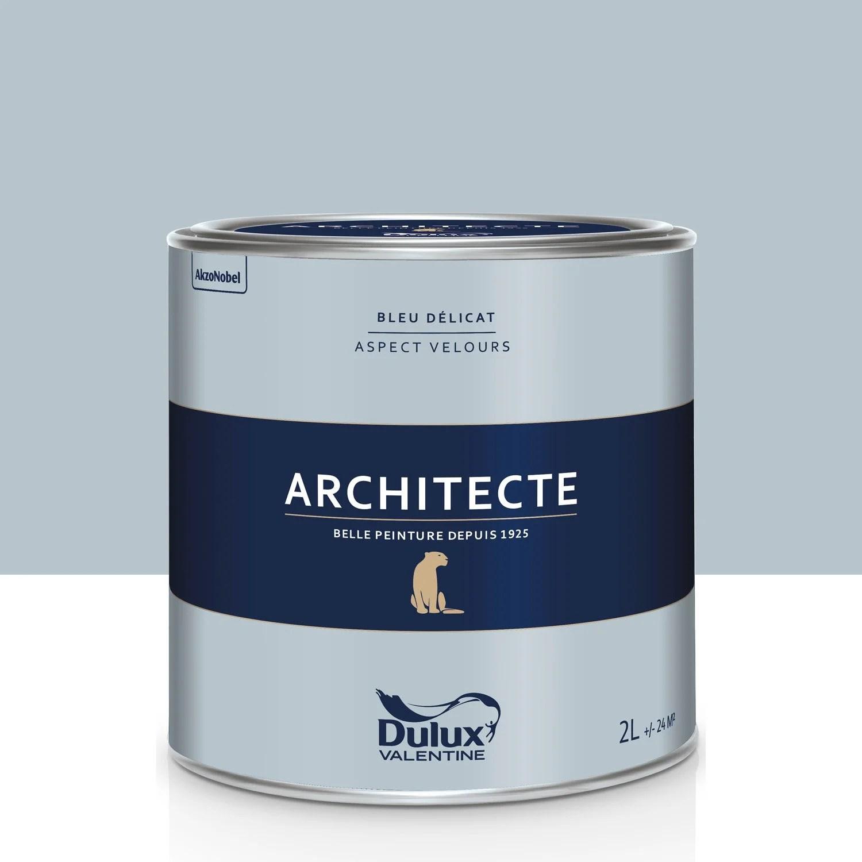 Peinture Bleu Dlicat Velours DULUX VALENTINE Architecte 2
