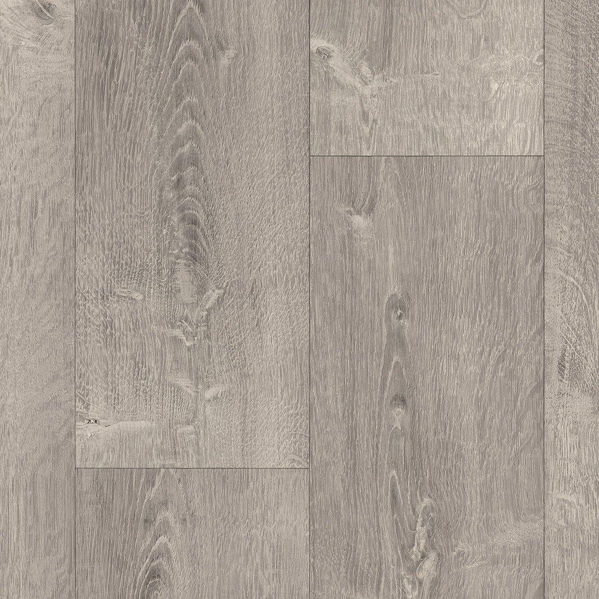 sol pvc effet parquet gris clair bois l 4 m