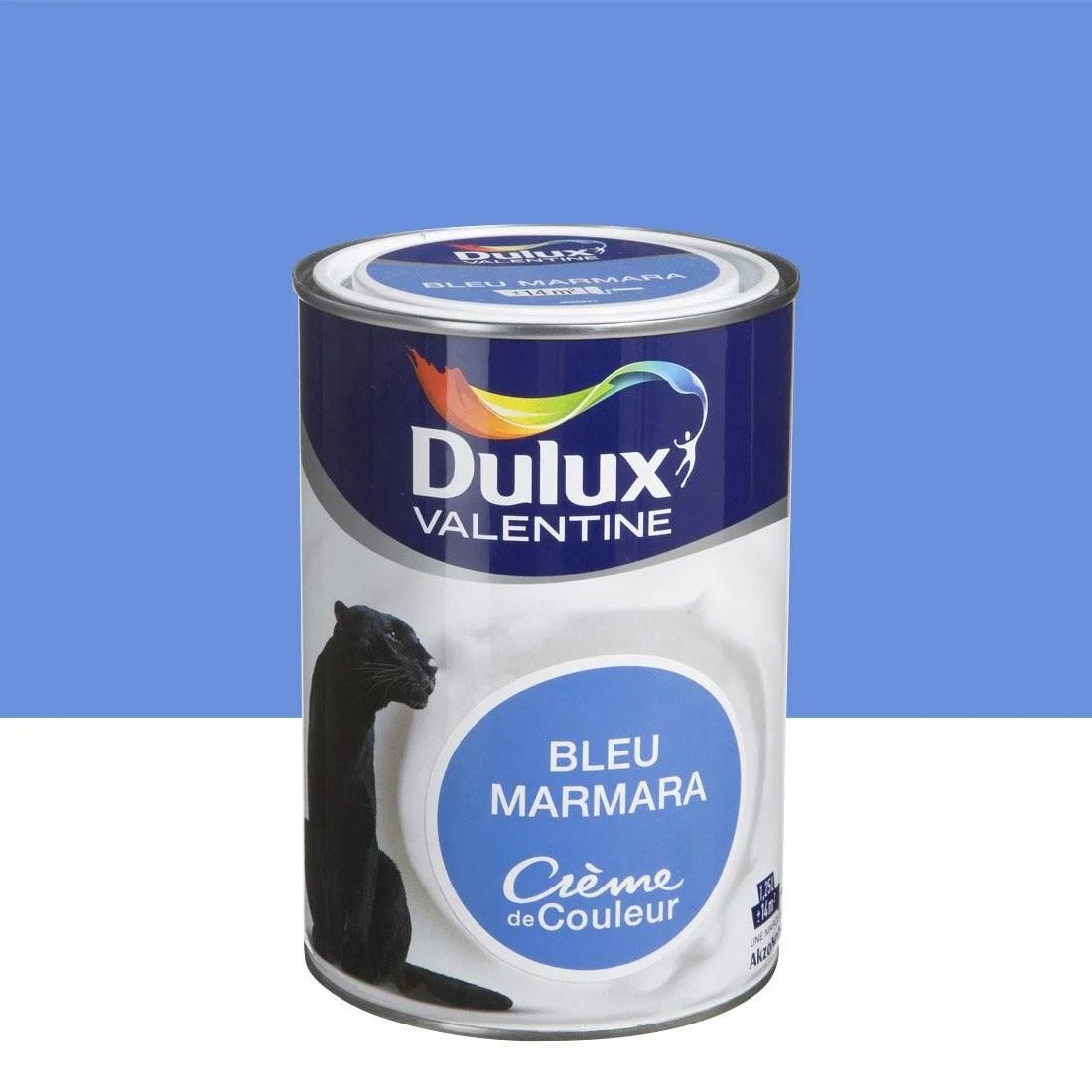 Peinture Bleu Marmara Satin DULUX VALENTINE Crme De