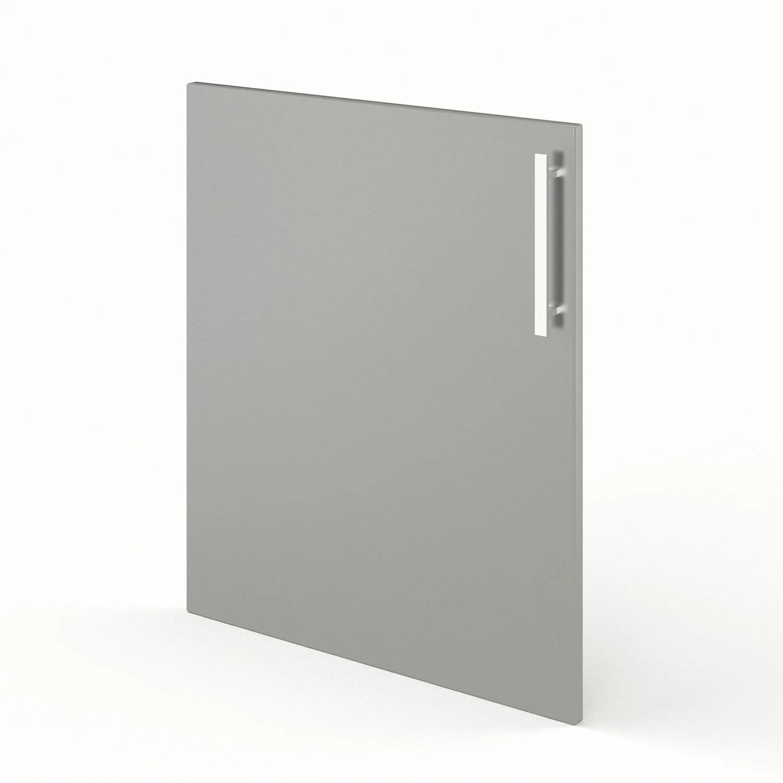porte de cuisine gris delice l 60 x h 70 cm