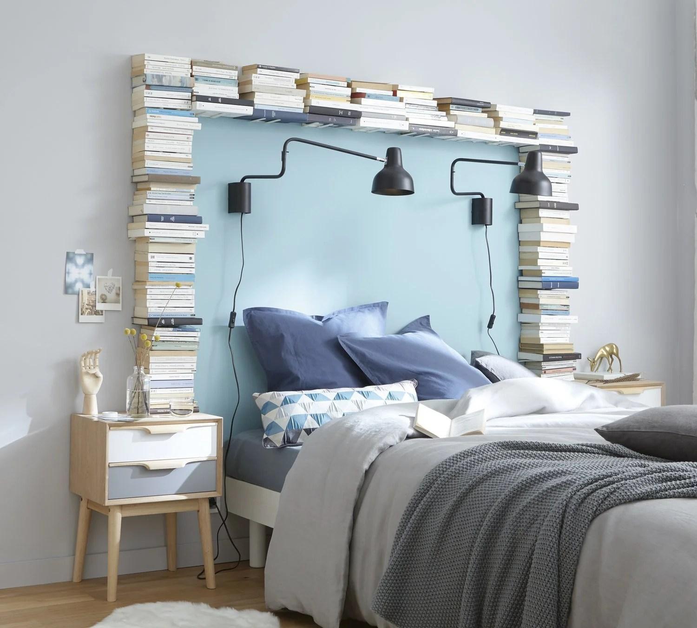 une tete de lit qui raconte une histoire