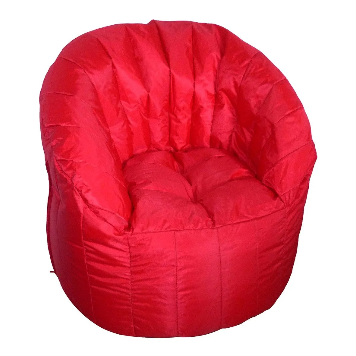 Pouf Impermable Hector Rouge L X H Cm With Pouf Poire