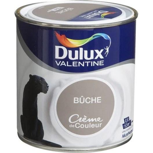 Peinture Brun Buche DULUX VALENTINE Crme De Couleur 05 L