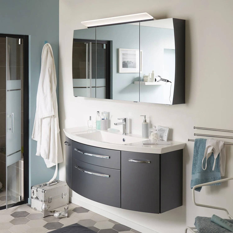 Meuble De Salle De Bains Et Armoire De Toilette Pour Un Rangement Optimal Leroy Merlin