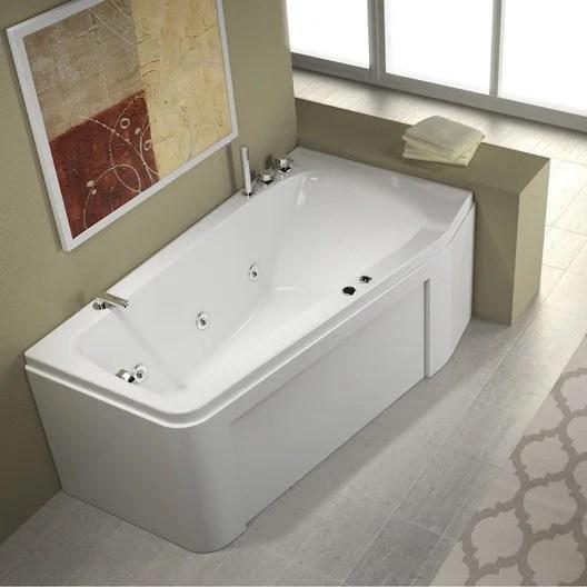 Baignoire Balno Asymtrique L160x L90 Cm THALA Confort