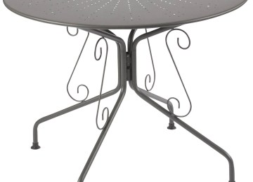 Table De Jardin Ronde Casa | Nos Standards Mc Timonier Fabrication ...