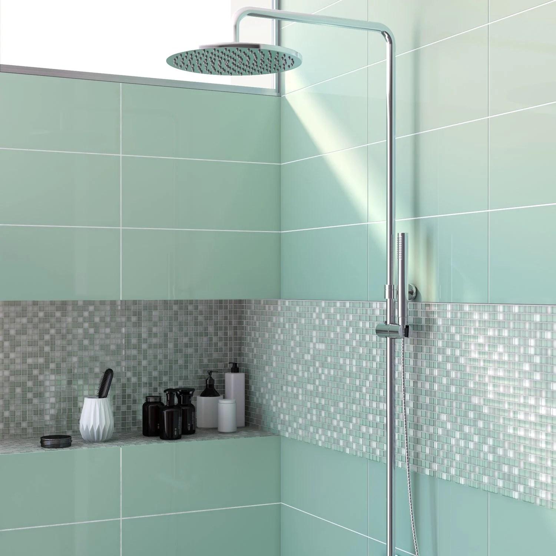 La mosaque rveille votre salle de bains  Leroy Merlin