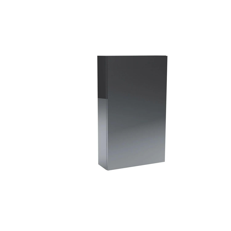 Armoire de toilette 1P l45 x H75 x P14cm  Remix  Leroy Merlin