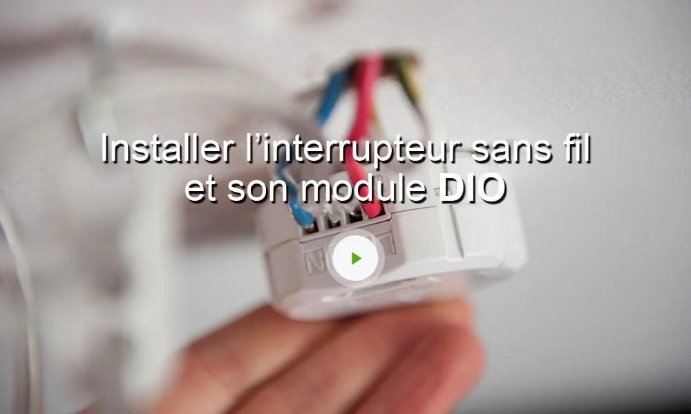 Kit 1 Rcepteur Pour Clairage Et Interrupteur Sans Fil