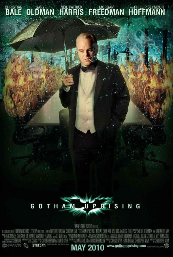 Mroczne Twarze Gotham Batman