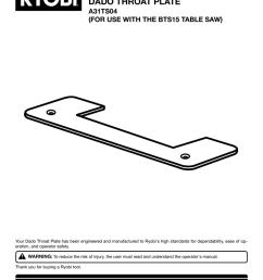 ryobi bts15 operator s manual manualzz com on ryobi bts15 rip fence ryobi bts table saw wiring diagram  [ 791 x 1024 Pixel ]