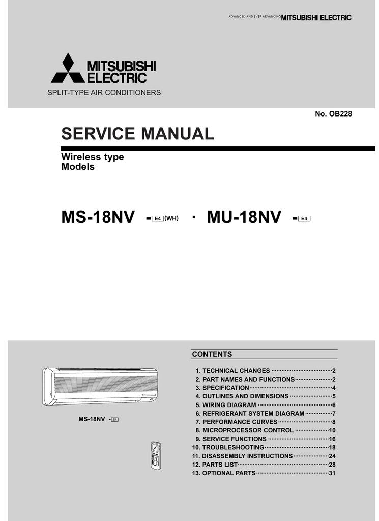 000707322_1 689e8c3c666bc054c9e7ee2c557e1910?resize=665%2C914 mitsubishi electric split type air conditioner service manual mitsubishi mini truck wiring diagram at eliteediting.co