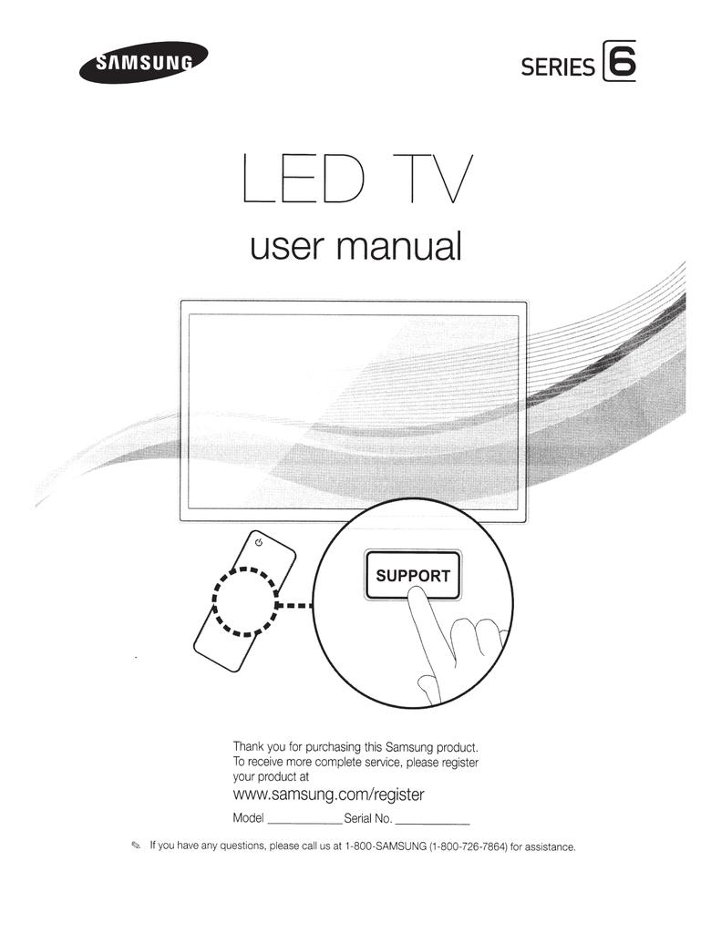 Samsung Led 6000 Series Smart Tv 46 Manual
