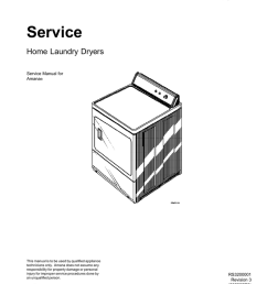 amana gas and electric dryer service manual [ 791 x 1024 Pixel ]
